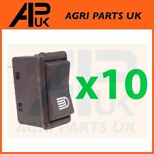 10 Case IH Ford John Deere Tractor Headlight Work Light Lamp Piano Rocker Switch