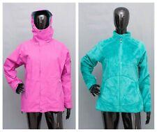 BERGHAUS Gore-Tex 3in1 Jacket Ladies Hooded Coat Shaggy Inner Jacket 12