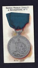 TADDY - BRITISH MEDALS & DECORATIONS (BLUE BACK) - #7 NILE, 1798