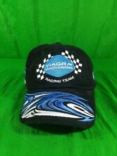 Viagra Racing Team Hat Black Blue Sex Pill Mark Martin Roush Nascar Straback Cap