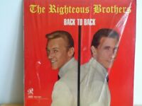 THE  RIGHTEOUS   BROTHERS       LP       BACK  TO  BACK
