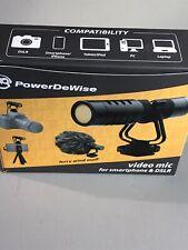 Power DeWise Video Mic For Smartphone & DSLR *Unused*