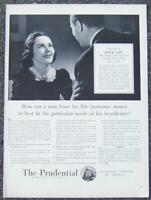 1940 Prudential Insurance Life Magazine Advertisement The Case of Dick Gay