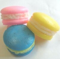 Macaron Macaroon SOAP MOULD, Silicone, High Quality mold, Candles, Bath Bomb