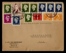 DR WHO 1949 NETHERLANDS AMSTERDAM TO USA C242631