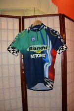 Bianchi Motorex old vintage cycling jersey SMS Santini M