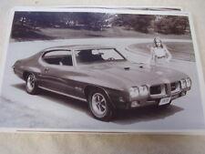 1970  PONTIAC  GTO  HARDTOP   11 X 17  PHOTO  PICTURE