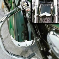 NATIONAL CYCLE Cast Front Fender Tips; 2-Piece Set for Suzuki® VL1500LC Intrude