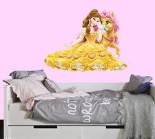 Disney Princess Belle Cute LARGE VINYL WALL STICKER DECALS CHILDREN Room 60