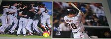 "MLB Baseball San Francisco Giant Collection of 8"" x 10"" Glossy Photographs"
