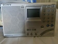 Sony ICF-SW7600GR AM/FM Shortwave World Band Receiver AS IS FOR PARTS