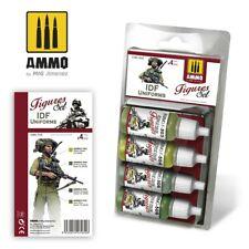 Ammo by Mig Acrylic Colours Paint Set - IDF Uniforms Set A.MIG-7030