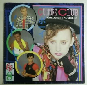 Culture Club – Colour By Numbers 1983 UK LP