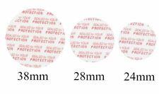 24mm, 28mm, 38mm Press & Seal Safety Liners JAR Tamper foam seal