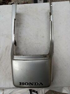 Honda Cb125 Super Dream Rear Seat Panel silver