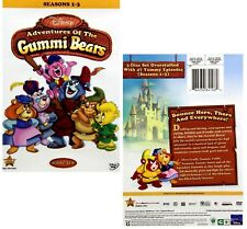 GUMMI BEARS 1-3  (1985-1991): COMPLETE Animated TV Seasons Series - NEW DVD R1