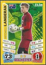 TOPPS MATCH ATTAX  BRAZIL 2014 WORLD CUP- #015-AUSTRALIA-MITCHELL LANGERAK
