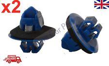 2x Toyota Prado Land Cruiser Side Moulding Wheel Arch Flare Plastic Trim Clips