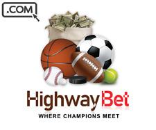 HighwayBet.com  - Brandable premium Domain Name for sale - BETTING DOMAIN NAME