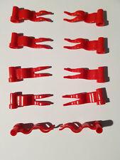 Lego 10 X 4495 Básico Bandera 4 X 1 Rojo 449521 (#Bc04) Bandera Castillo City