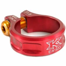 KCNC Sc11 Seat Post Clamp 7075 Alloy 31.8mm Red