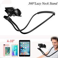 360° Handy Nackenhalter Halterung Schwanenhals Ständer für iPone iPad Smartphone