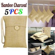 Air Purifying Bag Purifier Nature Fresh Charcoal Bamboo Mold Freshener 5 Bags US