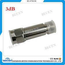 2W N 3db attenuator Free shipping N famle to female DC-3GHz 50ohm