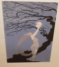 """ERTE """"FIREFLIES"""" LIMITED EDITION NUMBERED IN PENCIL LARGE COLOR LITHOGRAPH"""