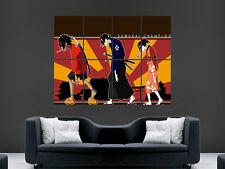 Sakura Samurai Champloo Poster animation japonaise Art Photo Imprimé Grand énorme