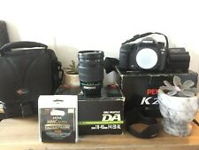 PENTAX K K20D 14.6MP DSLR Camera From Japan, with 16-45mm Lens and Lowepro Case
