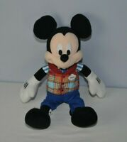 "Disney Parks Mickey Mouse Cast Member Uniform Employee Plush Stuffed Toy 15"""