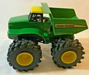 John Deere Monster Treads Roar N Rumble Dump Truck Farm Toys Truck w Sound