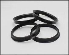 4x rubinetto di anelli 71.1 - 72.6 MOZZO Centro Anello VAUXHALL VIVARO BMW X5 del traffico