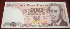 Banconote Europa/Polonia Narodowy Bank Polsky 100 Sto Zlotych / NUOVA