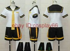 Vocaloid 2 Len Kagamine Cosplay Costume Any Size
