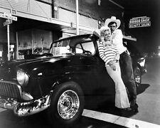 American Graffiti Harrison Ford Linda Christensen with 55 Chevy 24x30 poster