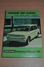 IE Reparaturanleitung RM 134 CHRYSLER IMP RANGE, 1963  Workshop Manual