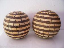 original boules décoratrice à base d os Océanie Polynésie