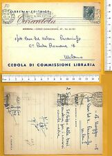 Cedola Commissione Libraria - Tarantola Editrice - Modena  - 25296