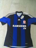 BNWT Men's Middlesbrough FC 2013/14 Football shirt Adidas size medium away
