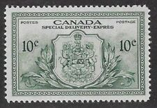 Canada, Peace Issue Special Delivery 1946 10¢ Green  Sc #E11, VF, PR/OG - dw59.8