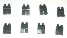x8 Black Minifigure LEGS PANTS 4 LEGO SET 853373 6598 10188 3404 7744 3569 6636
