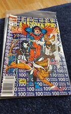 new mutants issue #100 1990 comic