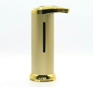 Automatic Touchless Liquid Soap Dispenser Sanitizer Hands Sensor Kitchen Gold