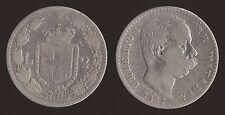 2 LIRE 1884 ARGENTO/SILVER - UMBERTO I