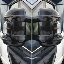 Mirror Protectors Ducato Boxer Relay LONG ARM - Black - Pair - NEW MODEL Milenco