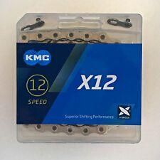"KMC X12 Chain — AUS Stock — Bicycle Bike MTB Road 11/128"" — 12 Speed"