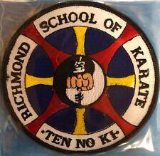 Richmond School Of Karate Ten No Ki Uniform Gi Jacket Patch Crest 564