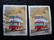 PORTUGAL - timbre yvert et tellier n° 1768 x2 obl (A28) stamp (S)